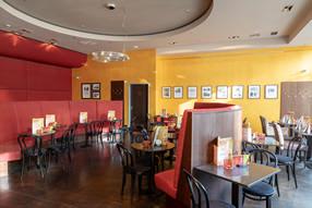 dekorative Farbgestaltung und Ausführung im Café Michaelis in Chemnitz