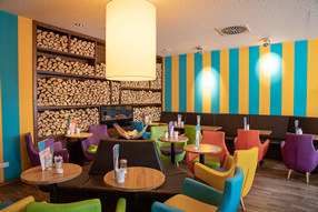 Eiscafé Buono - Farbgestaltung